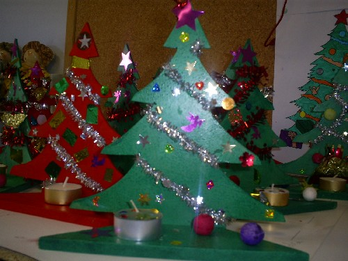 Creche car interior design - Decoration de noel activite manuelle ...