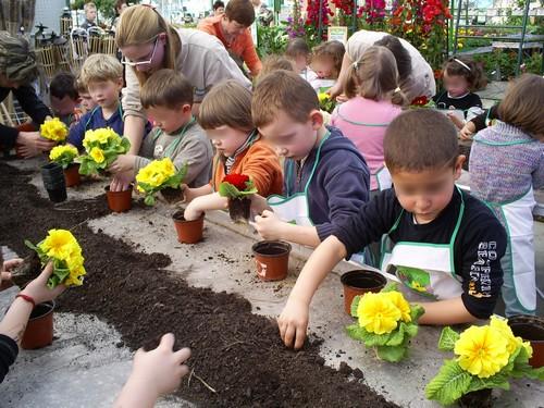 Nos jardiniers for Vive le jardin istres